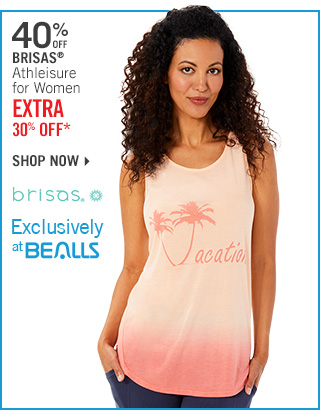 Shop 40% Off Brisas - Extra 30% Off*
