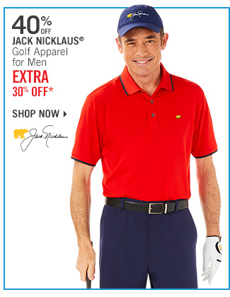 Shop 40% Off Jack Nicklaus for Men - Extra 30% Off*