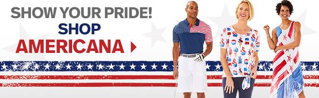 Show your Pride! Shop Americana