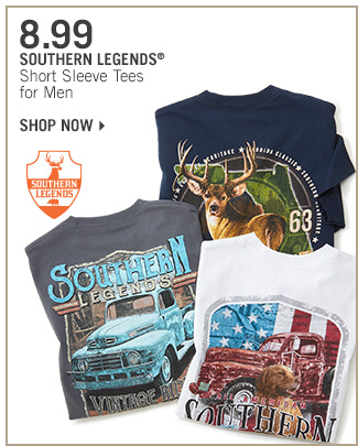 Shop 8.99 Southern Legends Tees for Men