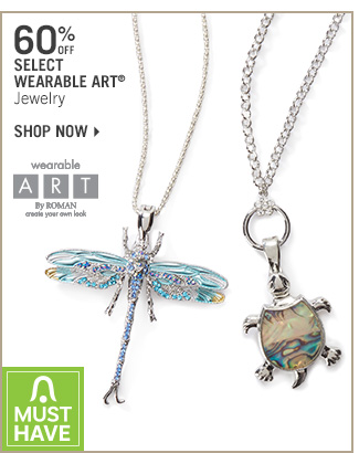 Shop 60% Off Select Wearable Art Jewelry
