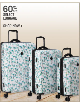 Shop 60% Off Select Luggage