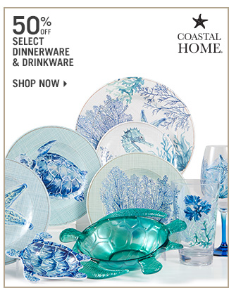 Shop 50% Off Select Dinnerware & Drinkware