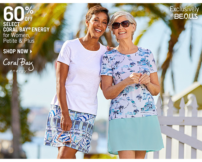 Shop 60% Off Select Coral Bay Energy for Women, Petite & Plus