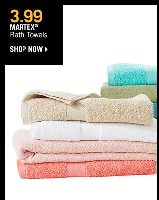 Shop 3.99 Martex Bath Towels