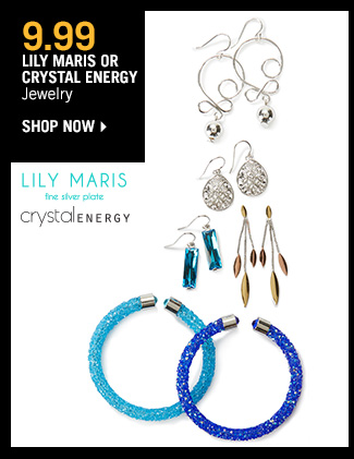 Shop 9.99 Lily Maris or Crystal Energy Jewelry