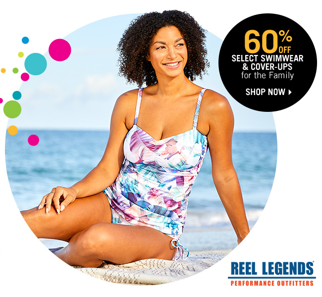 Shop 60% Off Select Swimwear & Cover-Ups for the Family