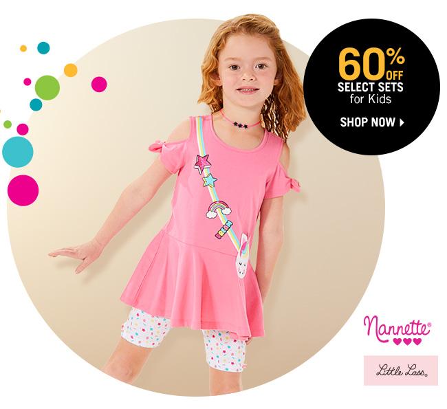 Shop 60% Off Select Sets for Kids