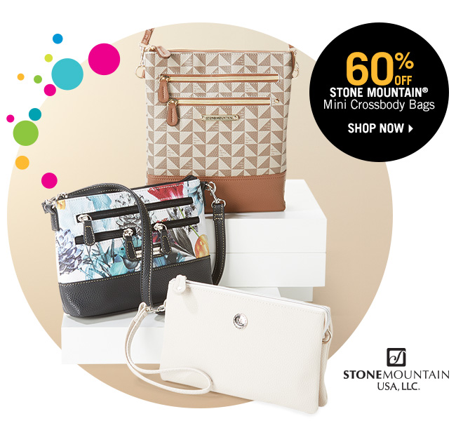 Shop 60% Off Stone Mountain Mini Crossbody Bags