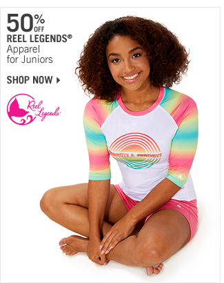 Shop 50% Off Reel Legends Apparel for Juniors