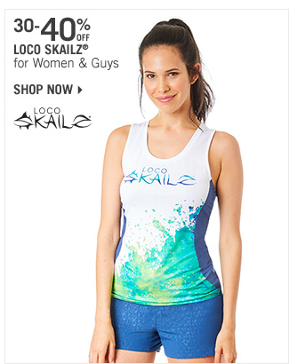 Shop 30-40% Off Loco Skailz for Women & Guys