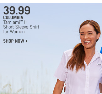 Shop 39.99 Columbia Tamiami II Short Sleeve Shirt for Women