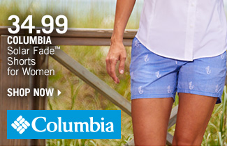 Shop 34.99 Columbia Solar Fade Shorts for Women