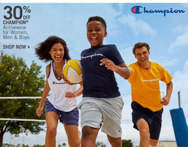 Shop 30% Off Champion Activewear for Women, Men & Boys