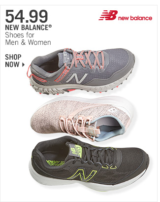 Shop 54.99 New Balance Shoes for Men & Women