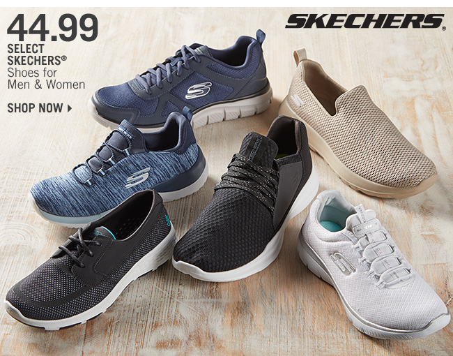 Shop 44.99 Select Skechers Shoes for Men & Women