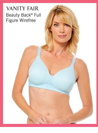 Shop Vanity Fair Beauty Back Full Figure Wirefree