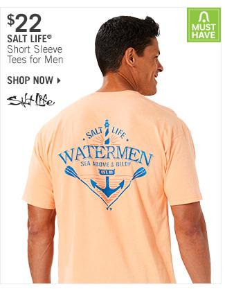 Shop $22 Salt Life Short Sleeve Tees for Men