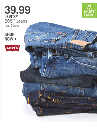 Shop 39.99 Levi's 505 Jeans for Guys