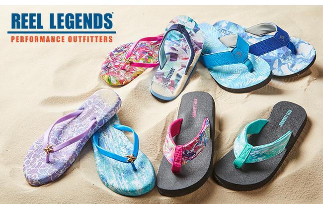 Shop Reel Legends Sandals