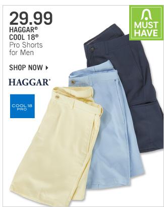 Shop 29.99 Haggar Cool 18 Pro Shorts for Men