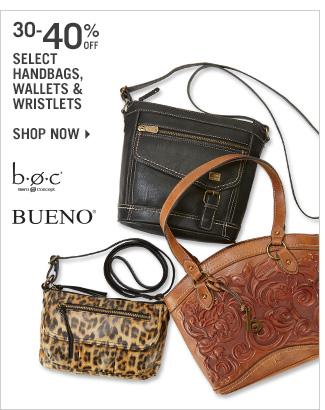 Shop 30-40% Off Select Handbags, Wallets & Wristlets