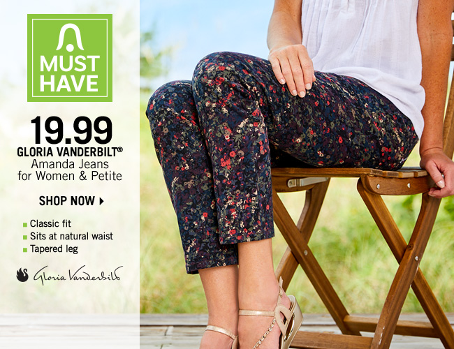 Shop 19.99 Gloria Vanderbilt Amanda Jeans for Women & Petite