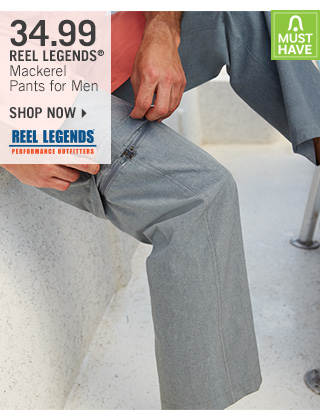 Shop 34.99 Reel Legends Mackerel Pants for Men