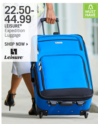 Shop 22.50-44.99 Leisure Expedition Luggage