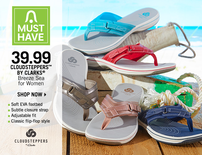 Shop 39.99 Cloudsteppers by Clarks Breeze Sea for Women