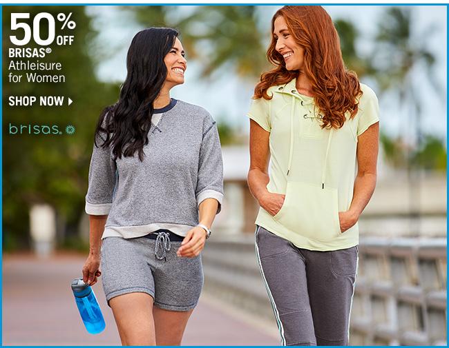 Shop 50% Off Brisas Athleisure for Women