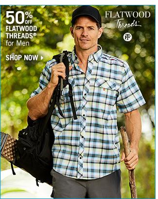 Shop 50% Off Flatwood Threads for Men