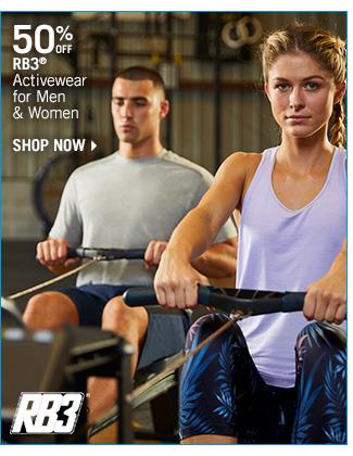 Shop 50% Off RB3 Activewear for Men & Women