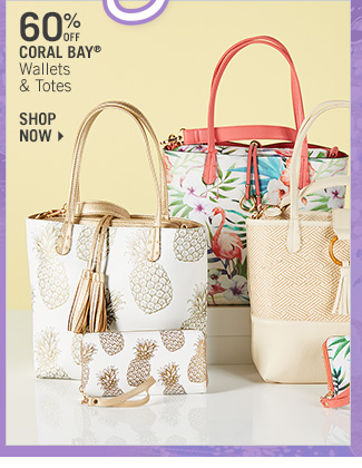 Shop 60% Off Coral Bay Wallets & Totes