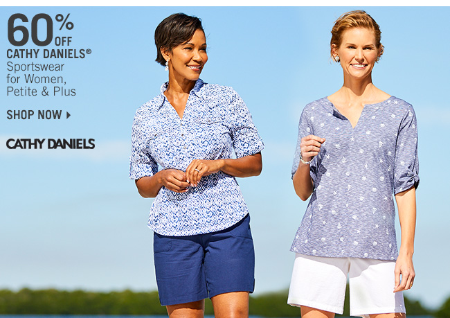 Shop 60% Off Cathy Daniels Sportswear