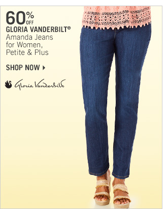 Shop 60% Off Gloria Vanderbilt Amanda Jeans