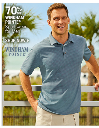 Shop 70% Off Windham Pointe Sportswear for Men