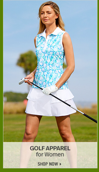 Shop 70% Off Select Golf Apparel for Women