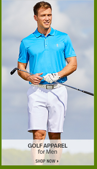 Shop 70% Off Select Golf Apparel for Men